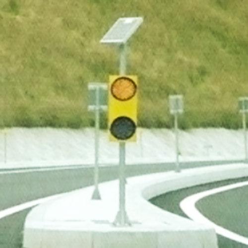 自然光障害物表示灯